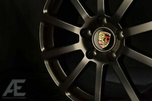 19-inch Porsche 911 996 997 991 Wheels/Rims Zehn Matte Black 5x130
