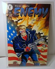 Dark Horse Comics Enemy #1 Signed by Creator/Writer Steven Grant with COA