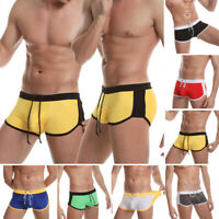 Men's Male Swim Shorts Swimwear Swimming Trunks Underwear Briefs Pants Bikini