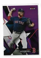 2018 Topps Finest baseball purple refractor parallel /250 Craig Kimbrel Boston