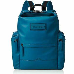 Hunter Original Topclip Rubberised Leather Backpack Large Bag UBB2022LRS ROB