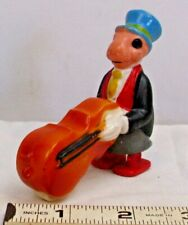 MARX WALT DISNEY PINOCCHIO JIMINY CRICKET WITH CELLO RAMP WALKER TOY