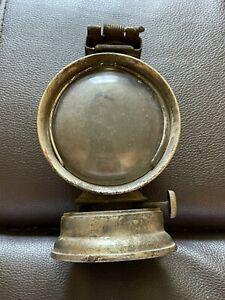 Antique 1800s/1900s Bicycle Lantern Manhattan Brass Co. New York