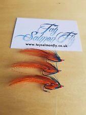 3x Kylie Shrimp Size 12 Double Hook Salmon Fishing Flies