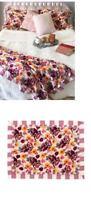 MATILDA JANE Flower Blanket 2 Abracadabra Shams Floral 62 x 62 3 Piece Set New