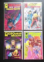 Big Lot of 20 Elfquest New Blood Comic Books #1-4 & #9-24 Warp Graphics Nice!