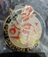 Devil Eygpt Egypt Directors Staff Shriners Vest Fez Hat Lapel Pin New Rare