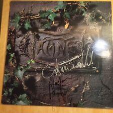 The Damned - Black Album UK 2 x LP Autographed by Vanian & Sensible COA
