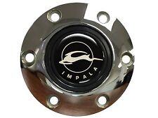 Chevy Impala Emblem with a Volante S6 Chrome Horn Button
