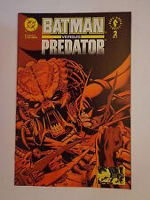 Batman Versus Predator Gibbons Kubert Warner Wright #2 DC Comics 1992 NM