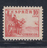 ESPAÑA (1937) NUEVO SIN FIJASELLOS MNH SPAIN - EDIFIL 818 (10 cts) CID - LOTE 3
