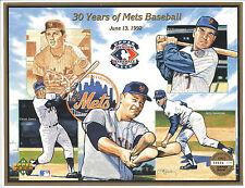 1992 Upper Deck Heroes 30 Years of Mets Baseball Sheet LE Numbered