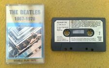 """ BEATLES 1967-1970 ""  EARLIEST GOLD INLAY ORIGINAL UK MUSICASSETTE"