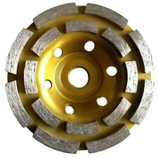 """4 1/2"""" 5"""" 7"""" Double Row Grinding Cup Wheel 12 Pieces For Concrete Stone Granite"""