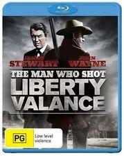 The Man Who Shot Liberty Valance (Blu-ray, 2012)