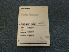 Caterpillar Cat GP25K GP25KHP Forklift Chassis Mast Options Parts Catalog Manual