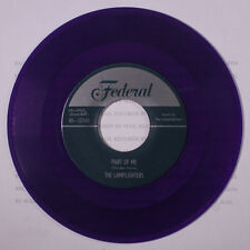 LAMPLIGHTERS: Part Of Me 45 (repro, purple wax) Vocal Groups