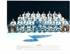 1976 1977 ST. LOUIS BLUES 8X10 TEAM PHOTO HOCKEY NHL MISSOURI USA