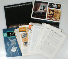 PHOTOGRAPHICA LITERATURE, VINTAGE LOT OF 12 BOOKLETS BY KODAK
