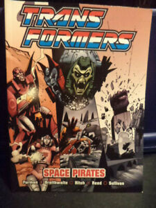 Transformers - Space Pirates (Marvel-Titan Books) Graphic Novel