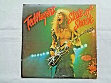 Ted Nugent State Of Shock 1979 Epic FE-36000 Sterling 1-F/1-D Press w/ Inner VG+