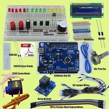 Small Basic Starter Kit for Arudino Uno R3 Mega2560 1602LCD Servo With Infiduino