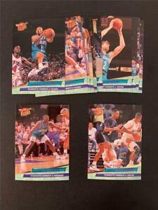 1992/93 Fleer Ultra Charlotte Hornets Team Set 13 Cards Alonzo Mourning RC