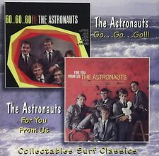 The Astronauts: Go...Go...Go!! / For You From Us (CD NEW 1997)