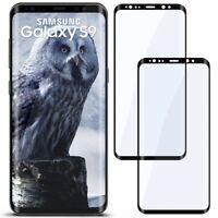 2x 3D Panzer Glasfolie für Samsung Galaxy S9 aus Hart Glas Curved Full Screen