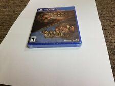 Baldur's Gate I and II 1 & 2 ENHANCED EDITION Sony PS4 Playstation 4 new