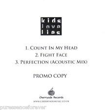 KIDS LOVE LIES - Count In My Head (UK 3 Track DJ CD Single)