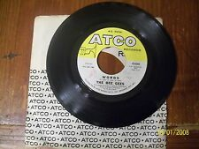 THE BEE GEES Words / Sinking Ships ATCO RECORDS 45 with sleeve FREE SHIPPING