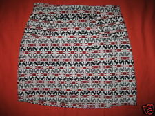 Nos Vintage 1990s Rare Relish Retro Geometric Mini Skirt Mod Rockabilly Boho S