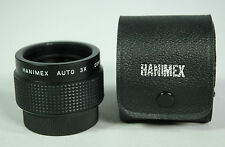Hanimex Automatic 3 x Tele Converter with Case for Pentax M 42