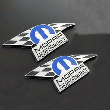 2x OEM Dodge Chrysler Charger 300 Mopar Performance Emblem Nameplate YU Jeep