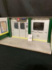 1:12 diorama Subway platform Marvel Legends, Figma, S.H Figuarts, D.C