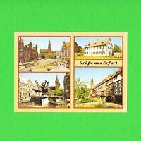 Ansichtskarte DDR Grüße aus Erfurt