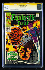 FANTASTIC FOUR #78 (1968) CGC 9.2 SS Near Mint Minus signed by Writer STAN LEE!!