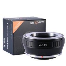 Adapter for M42 Lens to Fujifilm Fuji FX X mount X-Pro1 X-E1 X-E2 X-M1 M2