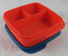 Tupperware Clevere Pause Rot / Petrol 550 ml Lunchbox Box Dose Büchse Neu OVP