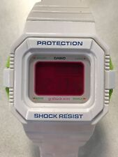 Casio Ladies White G-Shock Mini Digital Sport Watch GMN550 LIMITED EDITION RARE