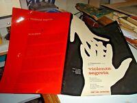 brochure original movie VIOLENCE SEGRETA - 1963 AARON MARYAM SALERNO