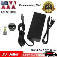 90W Laptop AC Adapter For IBM Lenovo ThinkPad Laptop Charger Power Supply Cord