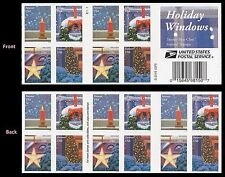 US 5148b Holiday Windows forever booklet 20 MNH 2016