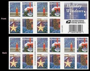 US 5145-5148 5148b Holiday Windows forever booklet (20 stamps) MNH 2016
