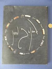Jean Dufaux - portfolio librairie bulle + CD - incomplet - signé num 97/378