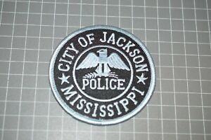 City Of Jackson Mississippi Police Patch (US-Pol)