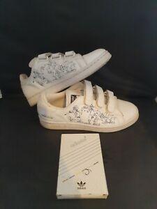 Disney Adidas Trainers White Stan Smith II W4 Adicolor Sport Goofy  UK 7 RARE