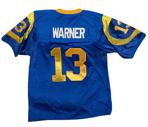 NWT Kurt Warner Los Angeles Rams Mitchell & Ness St. Louis Rams Jersey Size 52