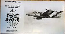 Military Aviation/Airplane 1950s Photograph: Morane-Saulnier MS 760 - Paris